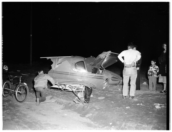 Plane Crash In Pacoima, 1951