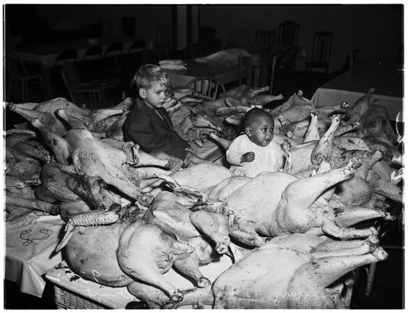 Sunshine mission turkeys, 1951