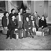 Displaced Persons arriving at Ansonia Hotel, 1951