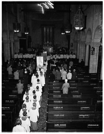 Episcopal Processional (Saint Paul's Cathedral), 1951