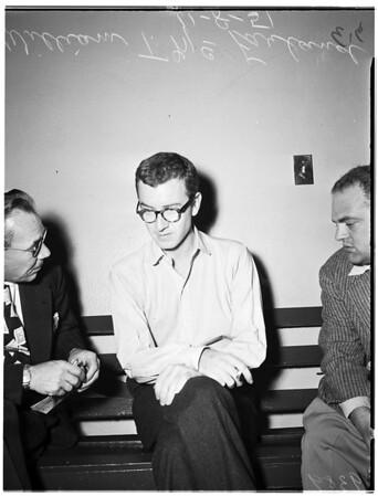 Narcotic writer...City Jail, 1951