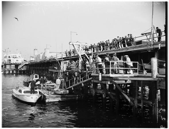 Body probably Darlings found in Santa Monica, 1951