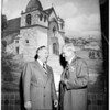 Mission room opening, 1951
