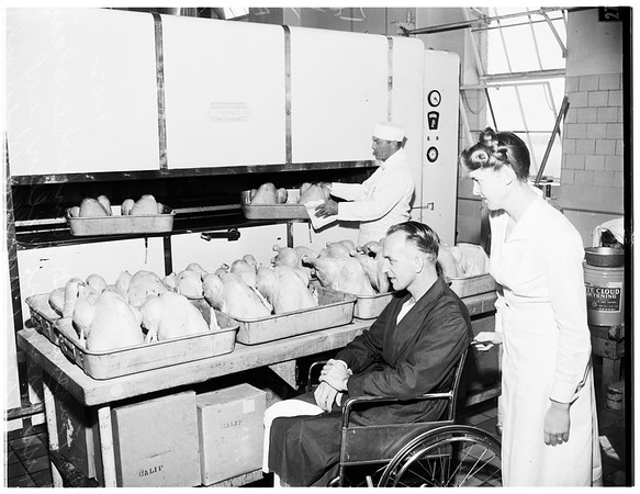 Thanksgiving ...Veterans Administration Hospital ...West Los Angeles, 1951