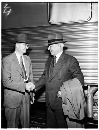 Doctor Compton arrival, 1951