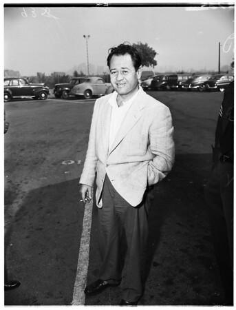 Pappy Boyington (Air Ace) drunk driving, 1951
