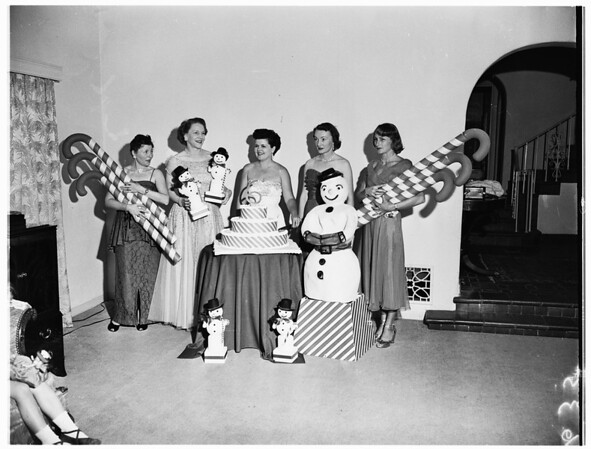 Spastic Children League of Los Angeles, 1951