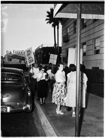 Democrats meeting, 1951