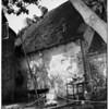 Apartment-Garage fire (121 South Rossmore Avenue, 1951