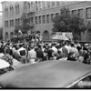Football ...University of Southern California ...Rally For Team, Going to Washington, 1951