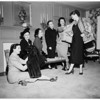 Society ...Sisterhood of Temple of Israel [sic] Planning Luncheon and Fashion Show, 1951