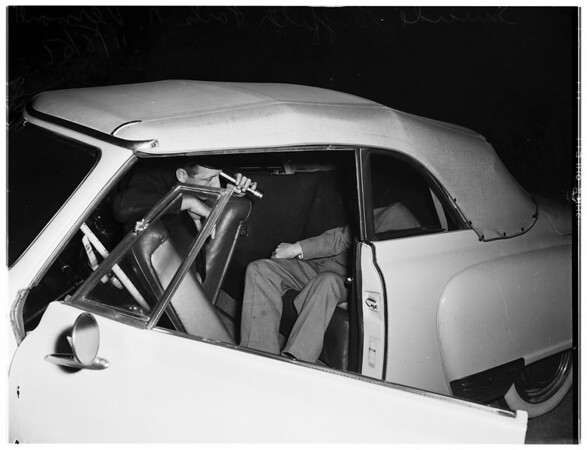 Suicide at Griffith Park...North Vermont, 1951