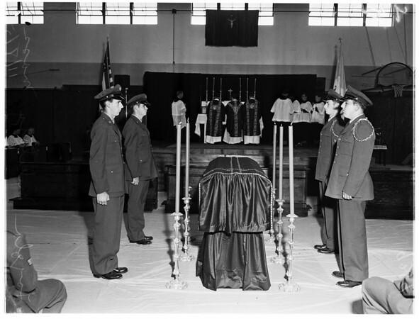 Loyola Military Mass, 1951
