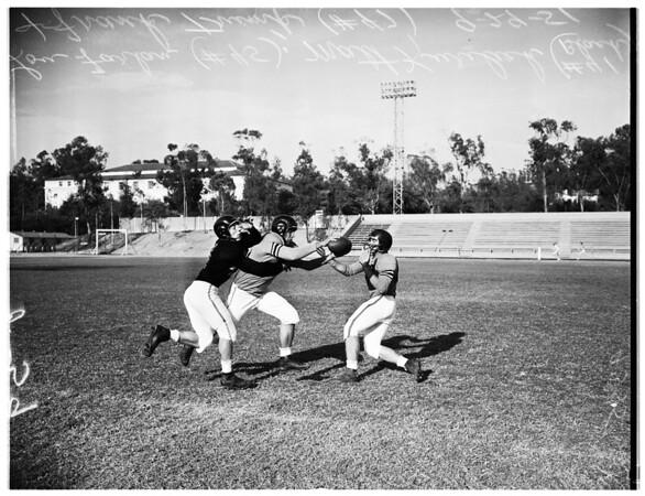 Occidental College football, 1951