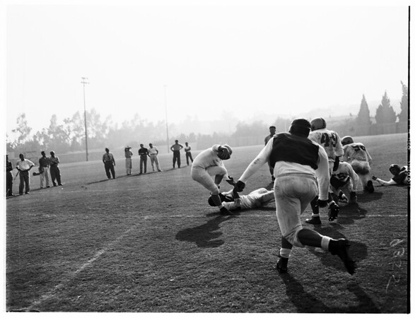 University of California, Los Angeles scrimmage, 1951