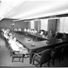 Hearst Corporation Board of Directors in first meeting in the Examiner Building, 1951