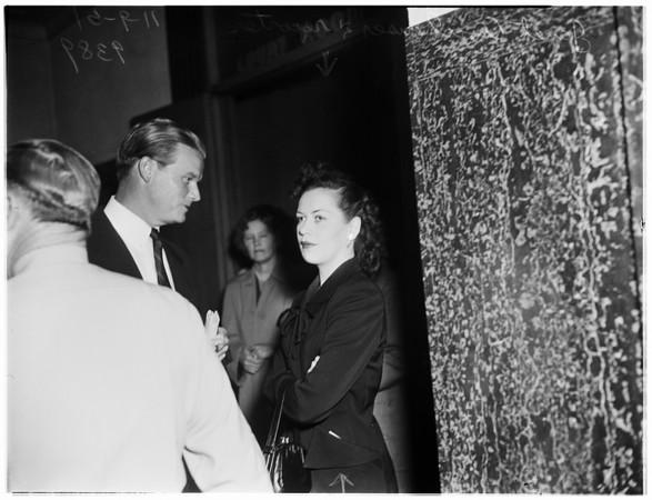 Murder trial...kills girlfriend from car...victim, Virginia Pauline (Thomason), 1951