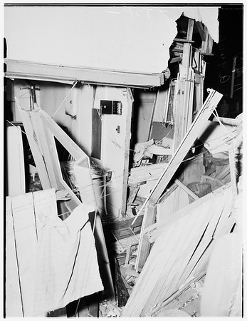 Explosion ...1016 1/2 South Kingsley Drive, 1951