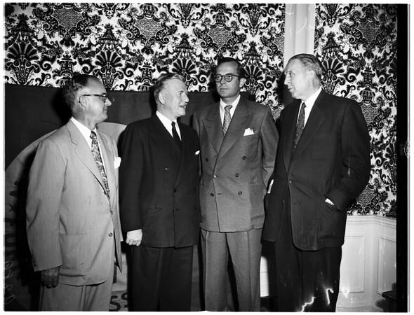 Furniture dealers ...Ambassador Hotel, 1951