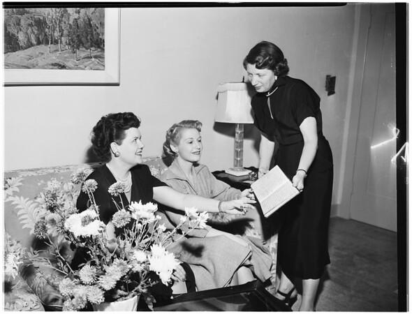 Spastic Children Tea Planning (Society), 1951