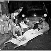 Boy Scouts and pedestrian safety month, Slauson Avenue and Vermont Avenue, 1951