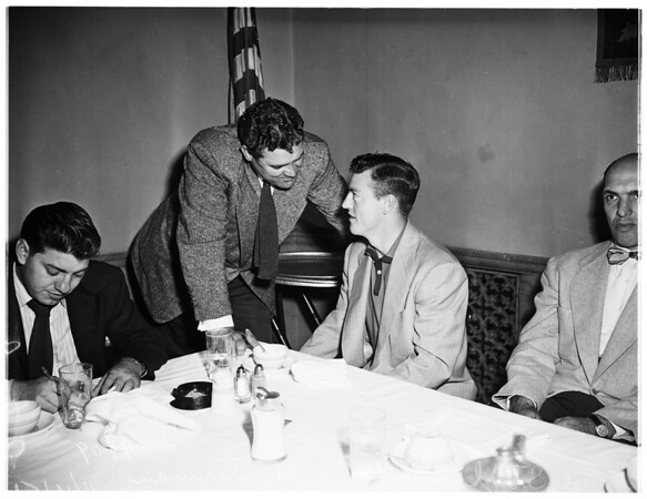 Football writers'  meeting, 1951
