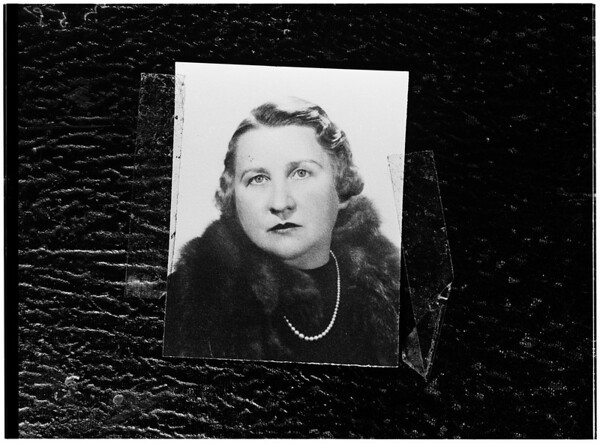 Missing woman, 1951