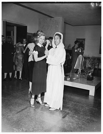 Society ...Robinson party, 1951