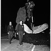 University of Southern California homecoming parade... several floats, 1951