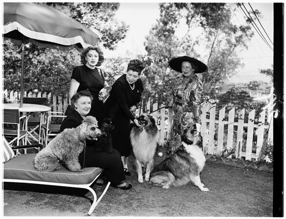 Pet owner group, 1951