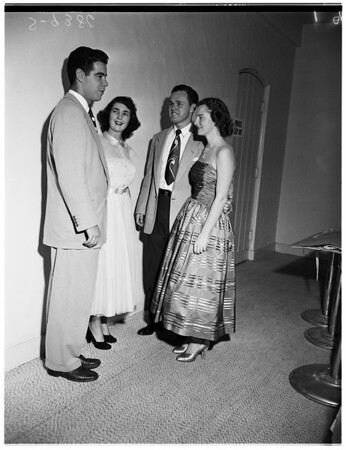 Society ...University of Southern California homecoming, 1951