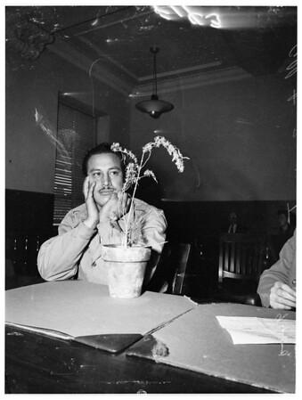 Marijuana hearing, 1951