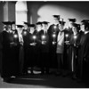 Pomona College's Founders Day ceremony, 1951