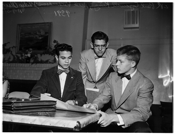 Associations ...Junior Statesmen Convention ...Santa Barbara, 1951