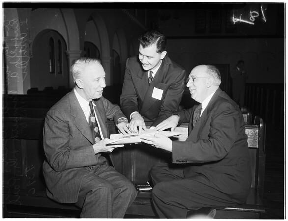 """Lutheran """"Meeting"""", 1951"""