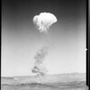 Atomic blast near Las Vegas, Nevada, November 5, 1951, 1951