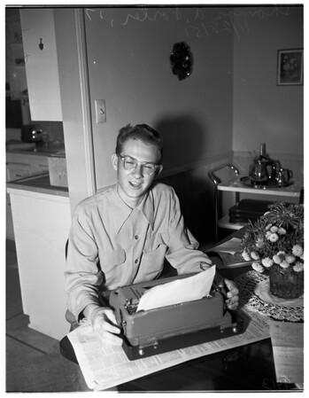 Examiner ...history awards ...third place winner, 1951