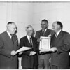 Traffic safety awards, 1951