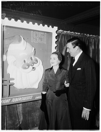 Christmas seal campaign luncheon, 1951