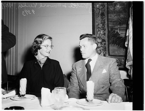 Republican Dinner... Biltmore Hotel, 1951