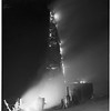 Signal Hill oil fire ...23rd Street and Junipero Avenue, 1951