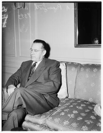 Interview at Biltmore Hotel, 1951