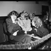 Child custody awarded to grandmother... girl had child with her stepfather and lost it to her mother, 1951