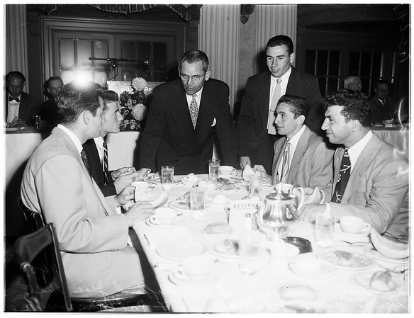 Football luncheon ...University of Southern California, 1951