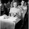History Contest Belmont High School, 1951