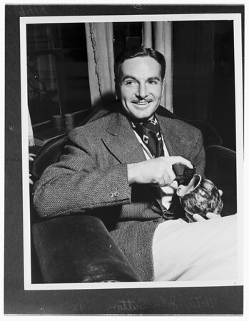 Actor John Sutton (copy negatives), 1951