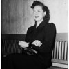 Murder trial...kills girlfriend from car...victim, Virginia Pauline (Thomason), 1951