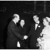 O'Rourke wedding, 1951