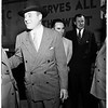 Attorney General arrives, 1951