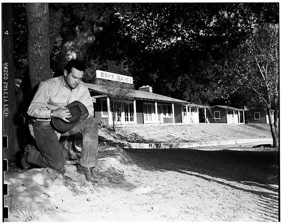 Mickey Finn boys ranch -- Newhall, California, 1951